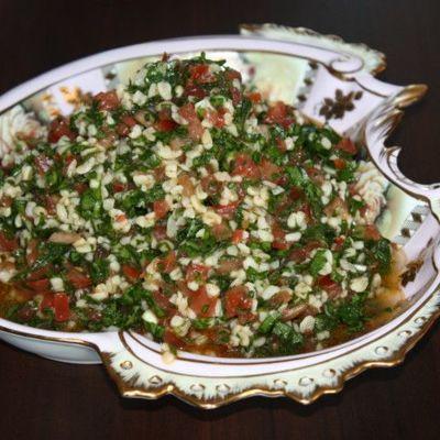 """Турецкий салат из булгура """"кысыр"""""""