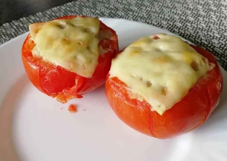 Фаршированные помидоры - 18 домашних вкусных рецептов приготовления