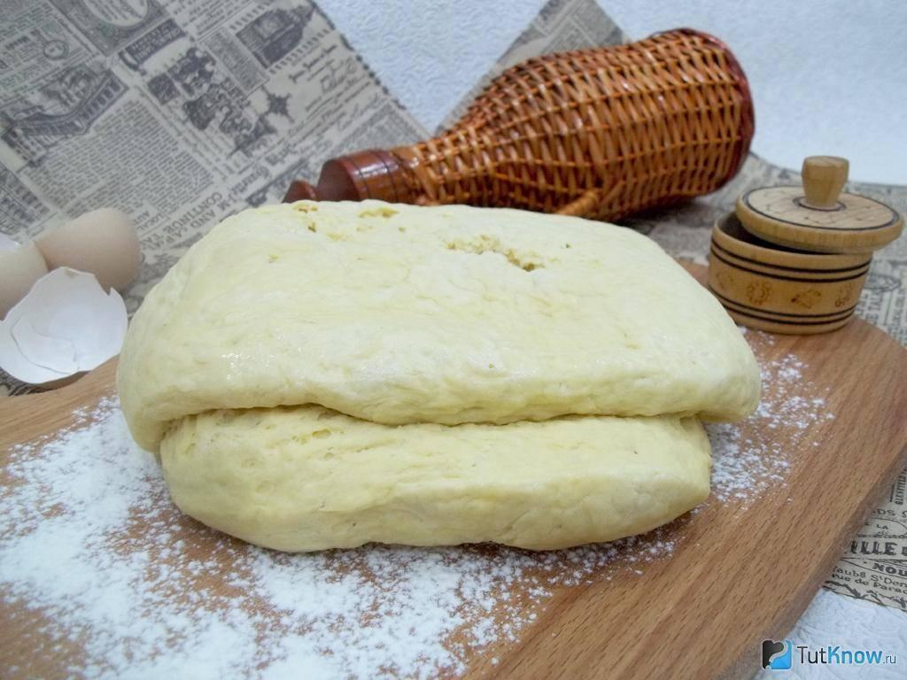 Дрожжевое тесто из сухих дрожжей - 124 домашних вкусных рецепта