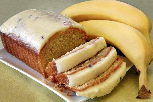 Творожный кекс с бананом - 11 пошаговых фото в рецепте