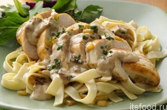 Фетучини с курицей: все тонкости готовки национального блюда