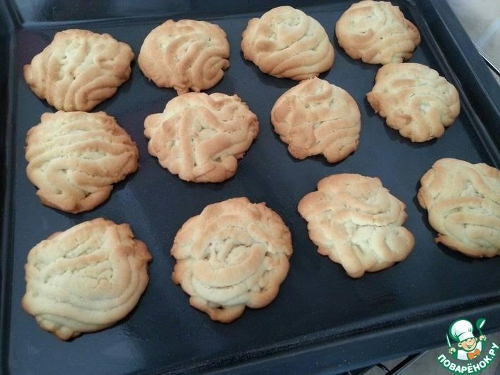 Печенье через мясорубку на маргарине, майонезе, с творогом или овсяными хлопьями