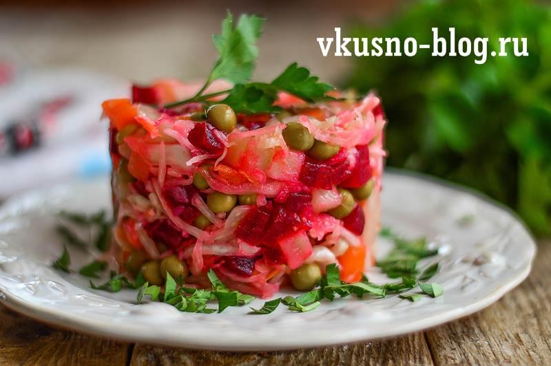 Винегрет — 10 вариантов салата