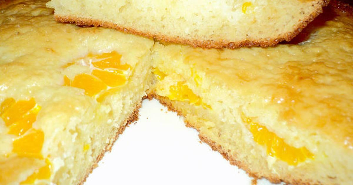 Сливочно-ореховый кекс с халвой