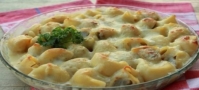 Фаршированные макароны-ракушки - вкусные и оригинальные рецепты приготовления пасты