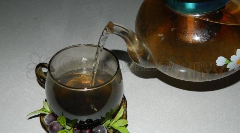 Чай из листьев смородины и малины: польза и вред. ферментированный чай из листьев смородины