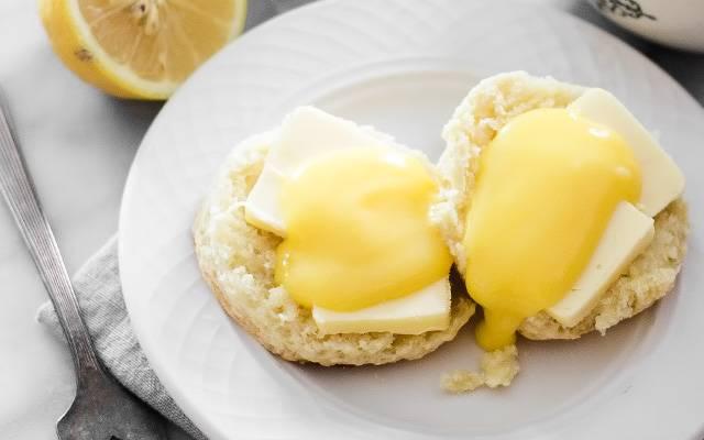 Лимонный заварной крем для торта