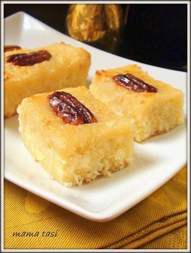 Турецкий десерт из манки (pumpkin and semolina dessert)