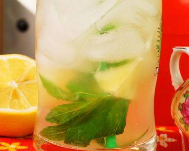 Домашний лимонад за 15 минут