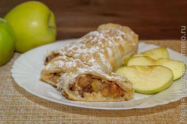 Домашний яблочный штрудель - готовим для самых любимых