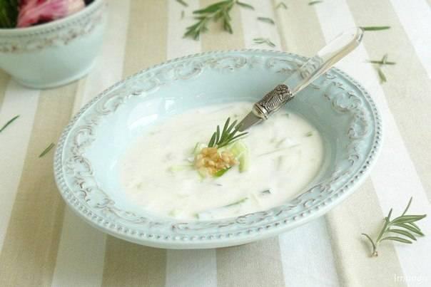 """Йогуртовый суп """"яйла"""""""