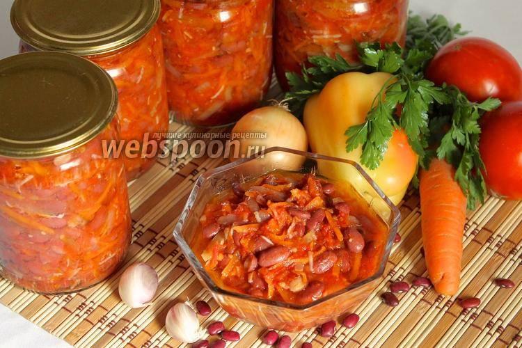 Красная фасоль в томатном соусе