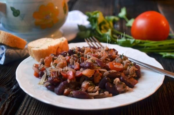 Классическое лобио из красной фасоли – 10 пошаговых рецептов