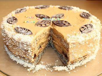 Рецепт классического торта черепаха — вкус детства