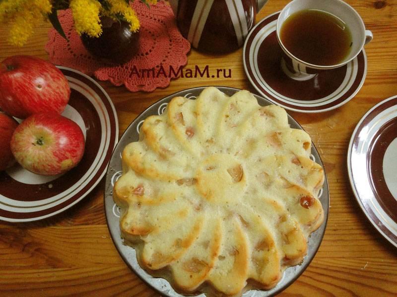 """Яблочный пирог """"все просто"""""""