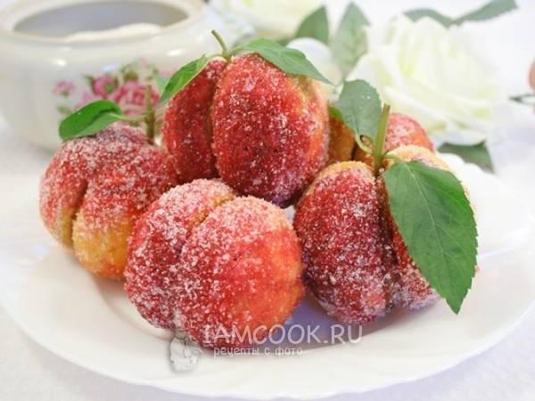 """Пирожные из детства """"персики"""""""