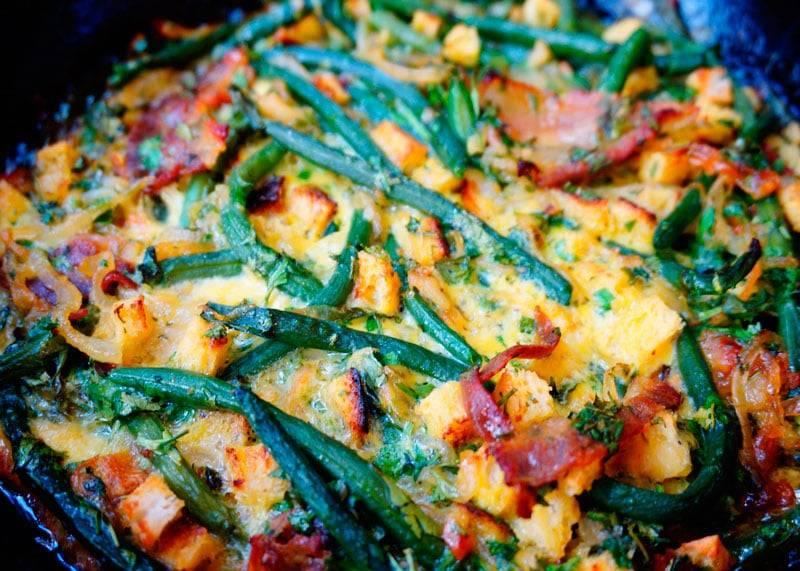 Лучшие блюда из спаржевой фасоли: рецепты