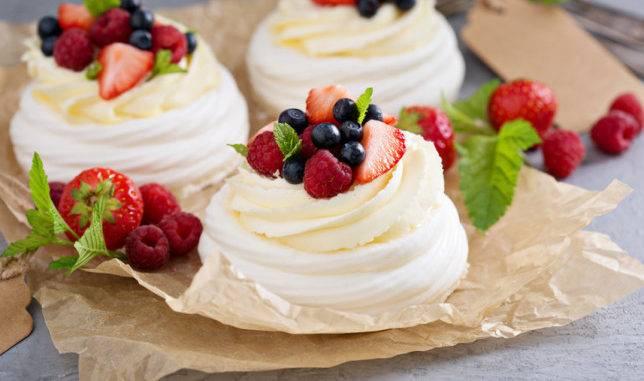 Тарт с заварным кремом ,малиной и белым шоколадом. - кулинарный рецепт. миллион меню