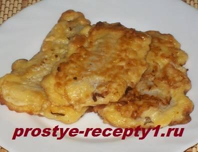 Рыбное филе в кляре - 6 пошаговых фото в рецепте