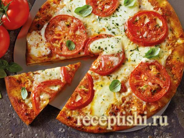 Быстрое и вкусное тесто для пиццы – самые простые рецепты приготовления с фото