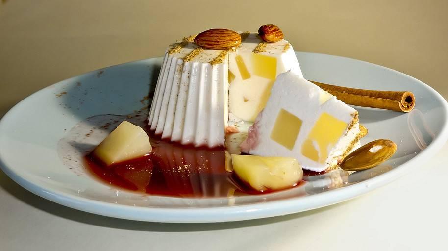 Бланманже - рецепт классический из молока, из творога, сметаны, с фруктами и ягодами