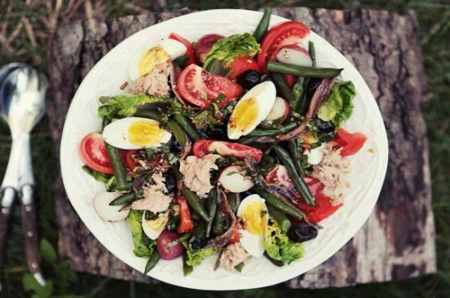 """Салат """"нисуаз"""": рецепт приготовления с фото"""