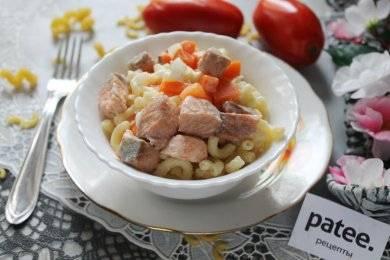 Паста с лососем в сливочном соусе рецепт юлия высоцкая
