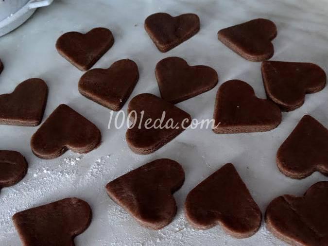 Печенье сердечки рецепт
