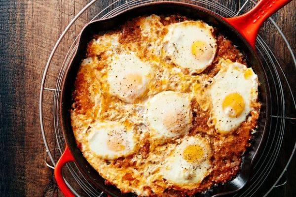 Идеальный завтрак: шакшука из 3-х ингредиентов