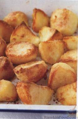 Картофель, запеченный со свиной грудинкой - 6 пошаговых фото в рецепте