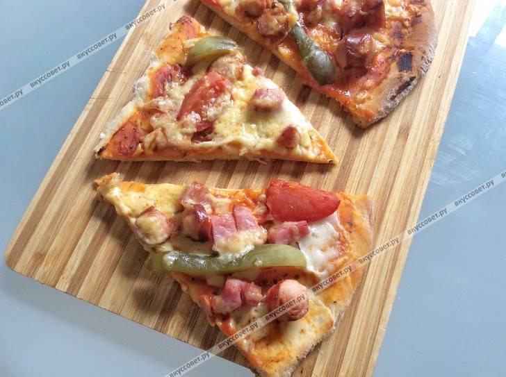 Домашняя пицца в духовке. 12 рецептов очень вкусной пиццы в домашних условиях
