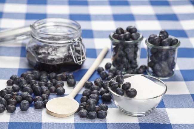 Черника протертая с сахаром на зиму: пропорции, рецепт приготовления и правила хранения