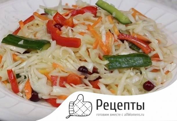 Заправка для салата из свежей капусты: рецепт с фото