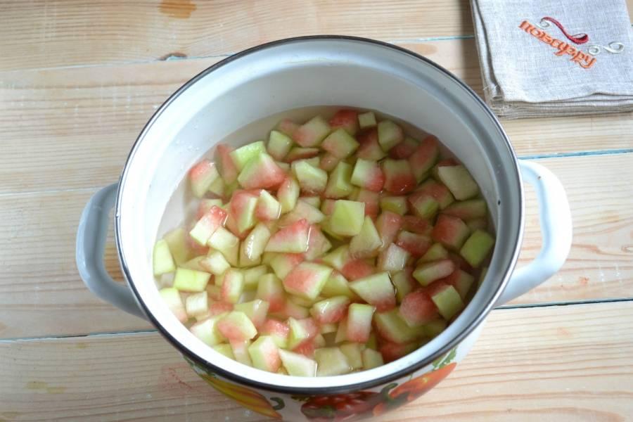 Варенье из арбузных корок - простые и оригинальные рецепты необычного лакомства