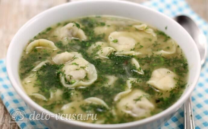 Суп с ленивыми пельменями - рецепт с фотографиями - patee. рецепты