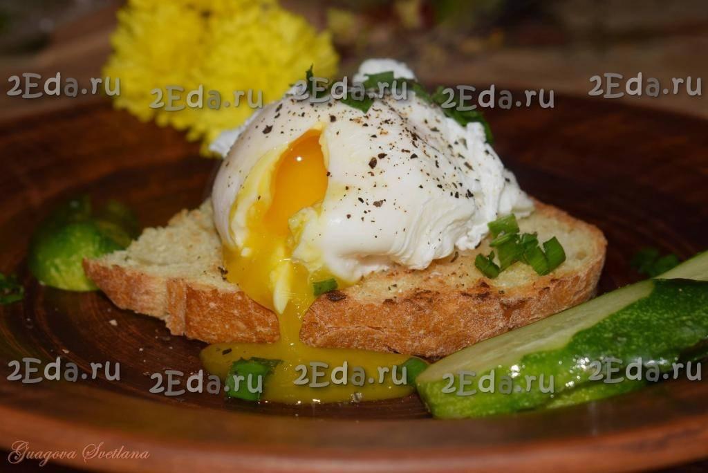 Яйца пашот в микроволновке рецепт с фото