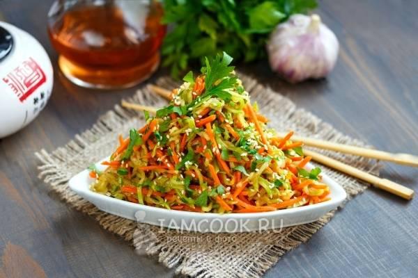 Кабачки по-корейски быстрого приготовления. пошаговый рецепт с фото • кушать нет