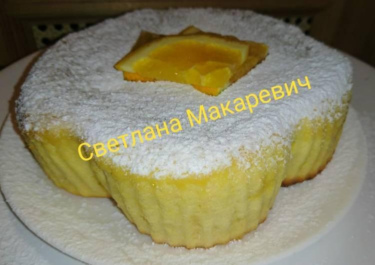 Пирог с черникой в мультиварке - 11 пошаговых фото в рецепте