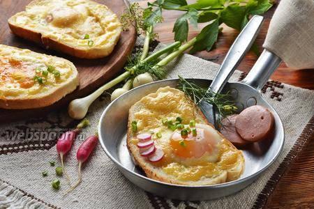 Быстро и вкусно: 12 замечательных яичниц - статьи на повар.ру