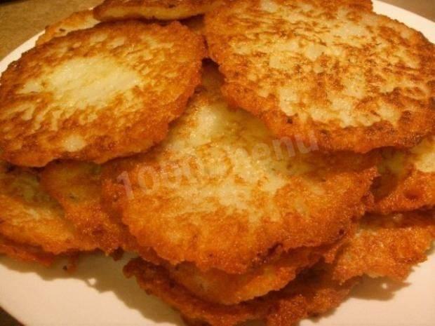 Как приготовить картофельные латкес с грибами? пошаговый рецепт с фото