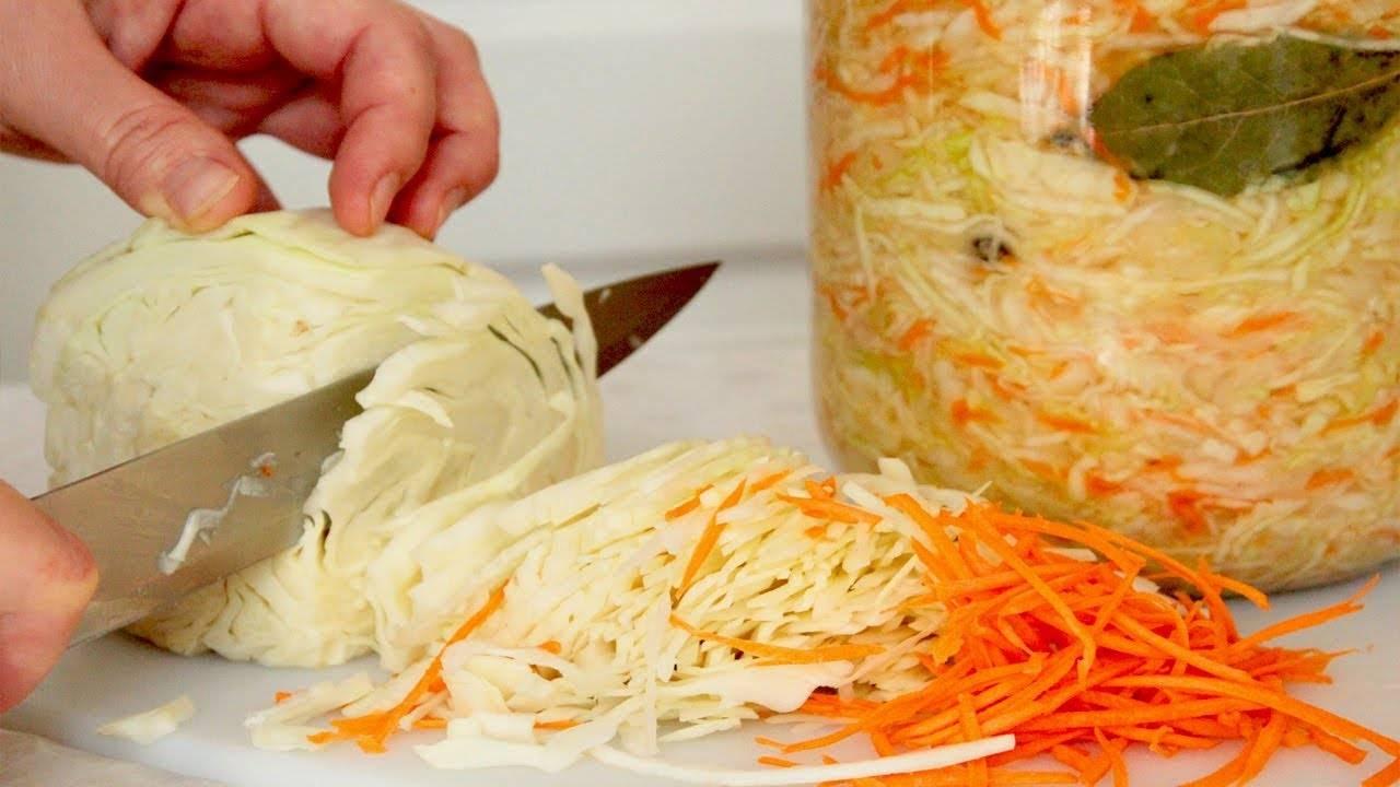 Квашеная капуста – простые рецепты