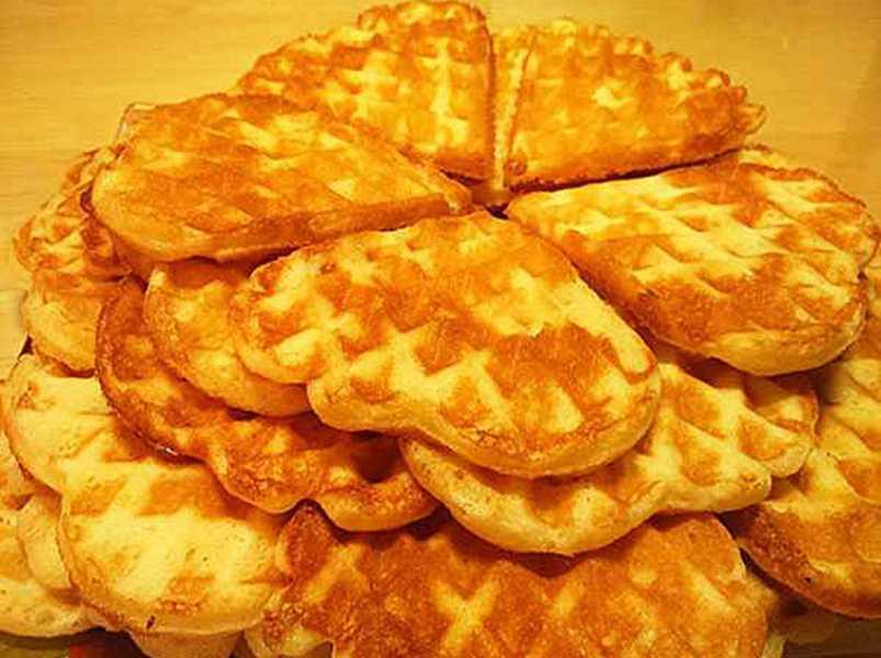 Картофельные вафли - простой и вкусный рецепт на Масленицу