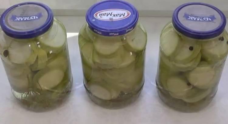 Вкусные консервированные кабачки на зиму - 6 пошаговых фото в рецепте
