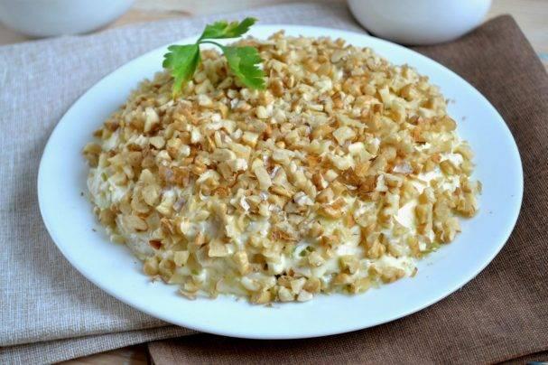 Салаты с орехами » рецепты - готовим дома   «наобед.kz»