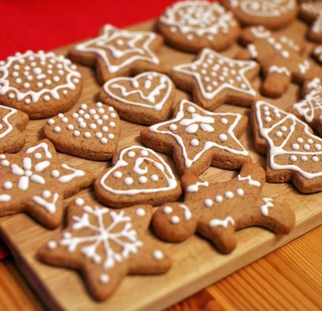"""Имбирное печенье """"колокольчики"""""""