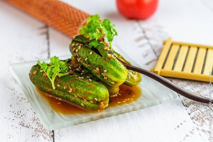 Как приготовить огурцы по-корейски пошаговый рецепт