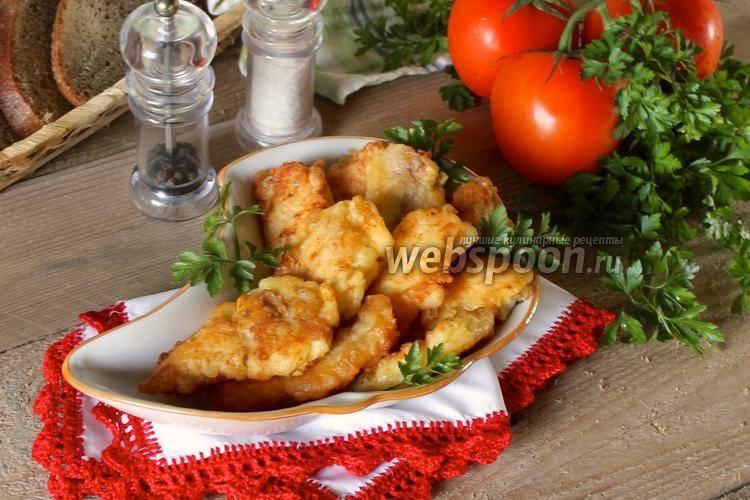 Рыба пангасиус в кляре