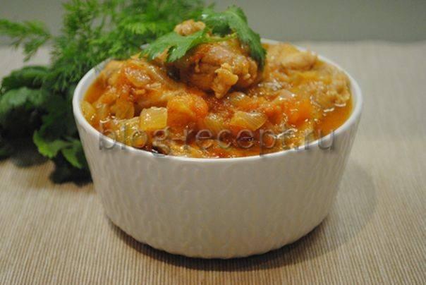 """Чахохбили """"класический грузинский рецепт"""" - как приготовить чахохбили по грузински - запись пользователя калючка (kalu4ka) в сообществе кулинарное сообщество в категории блюда из птицы - babyblog.ru"""