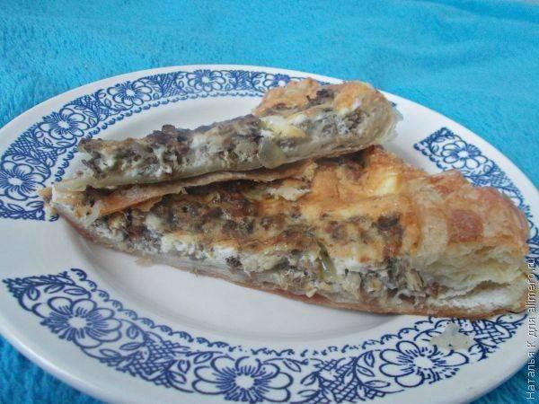 Пошаговый рецепт простого и быстрого пирога с рыбой в духовке