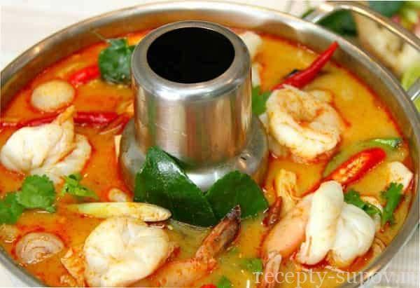 Том ям - рецепты вкусного и пикантного тайского блюда